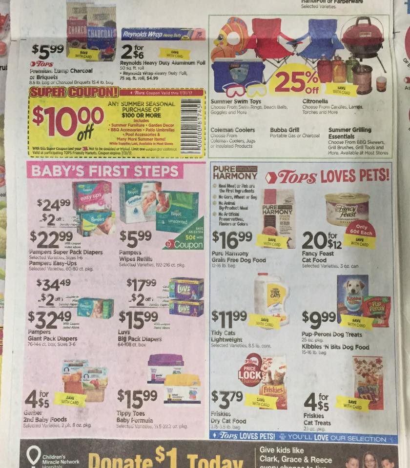 Tops Markets Ad Scan Week Of 7 2 Page 6b