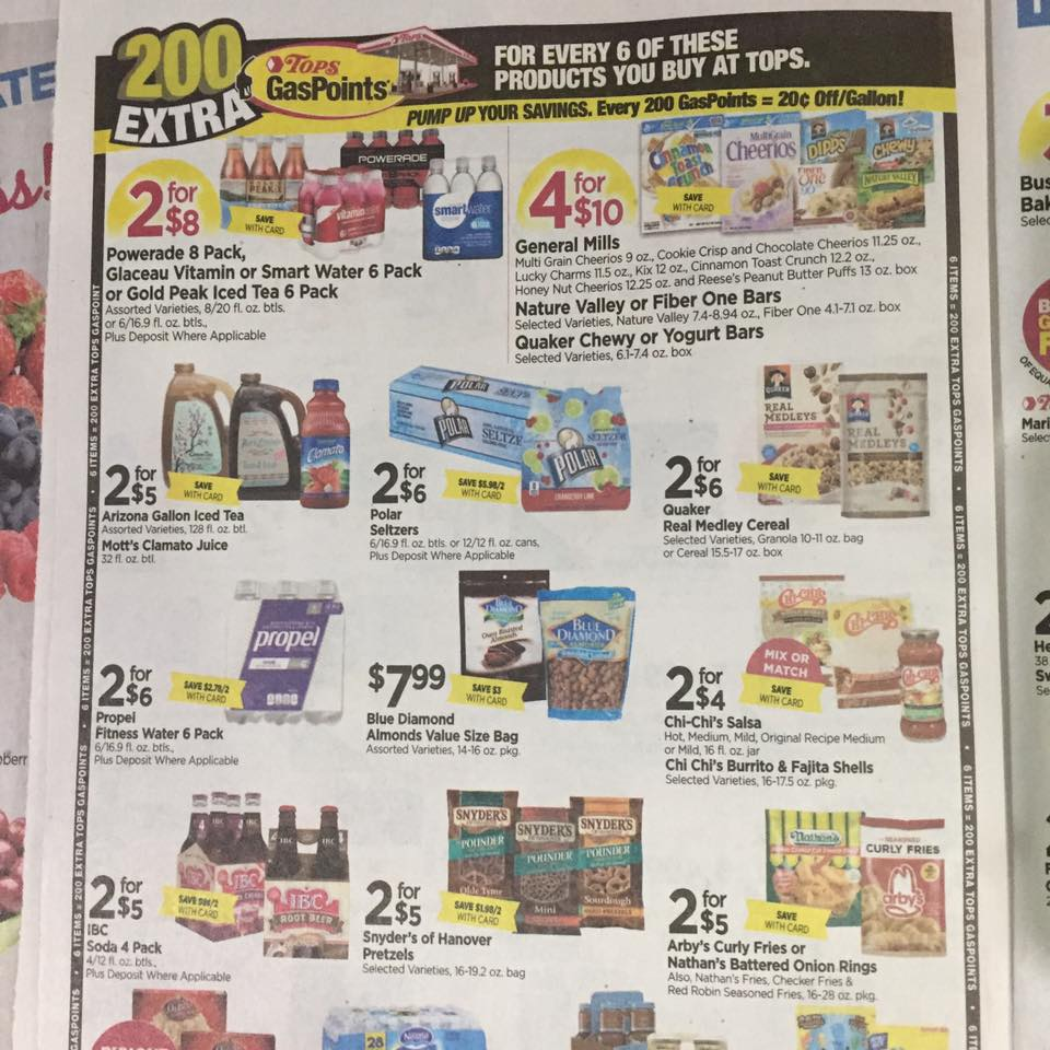 Tops Markets Ad Scan Week Of 7 2 Page 8a