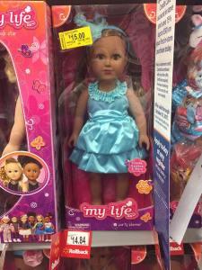 Walmarts My Life Dolls 2