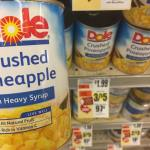 Dole Pineapple At Tops