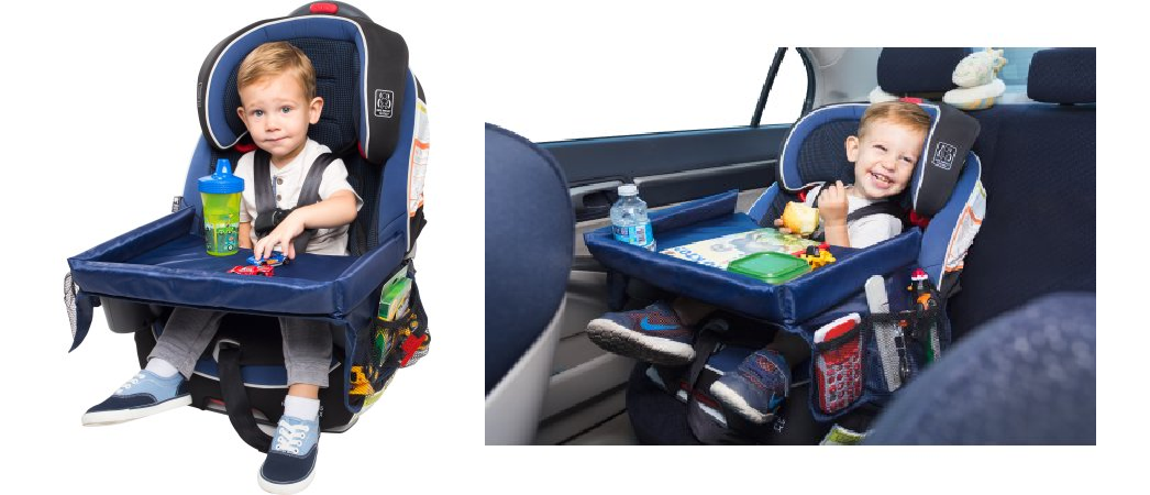 Childrens Snack Play Learn Activity Tray For Car Seats