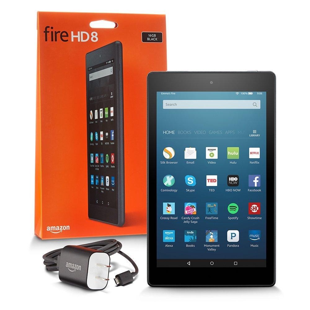 Fire HD 8 Tablet With Alexa, 8 HD Display, 16 GB