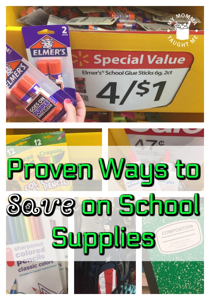Proven Ways To Save On School Supplies