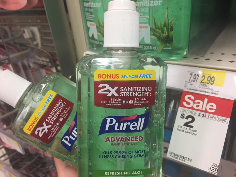 Purell Sale At Target
