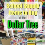 School Supply Items To Buy At The Dollar Tree