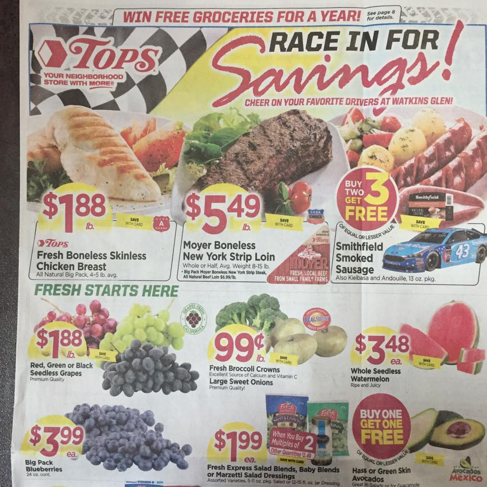 Tops Ad Scan Week Of 7 30 Page 1a