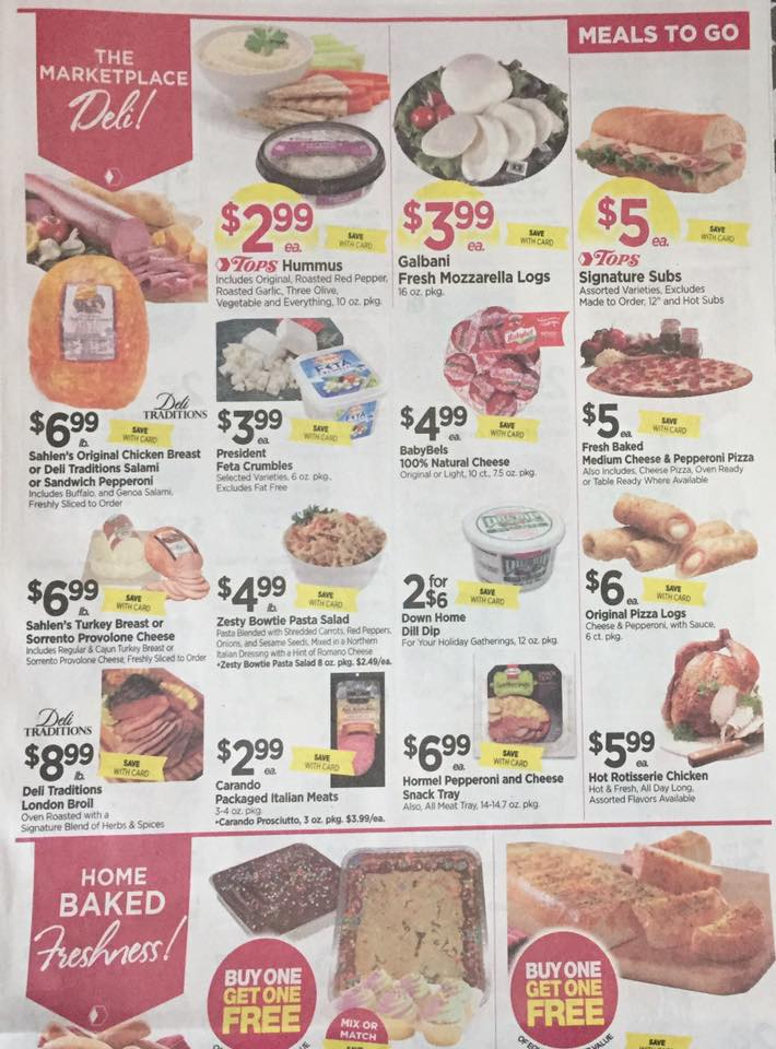 Tops Ad Scan Week Of 7 30 Page 3a