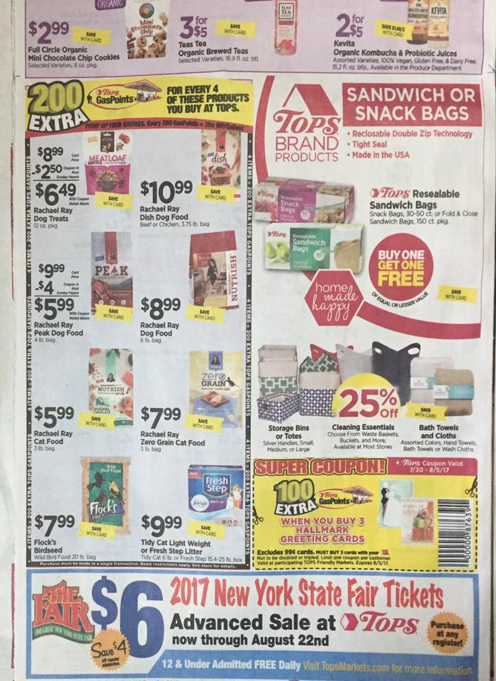 Tops Ad Scan Week Of 7 30 Page 6b