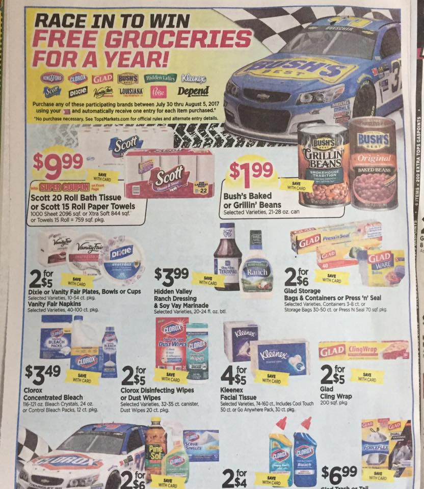 Tops Ad Scan Week Of 7 30 Page 8a