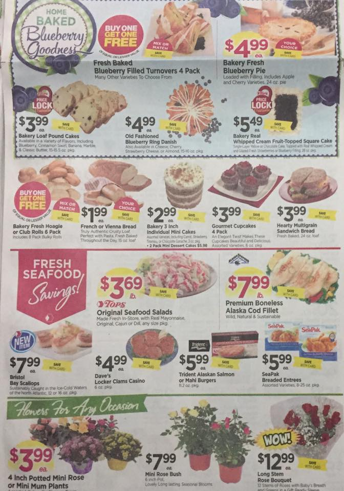 Tops Markets Ad Scan Week Of 7 23 Page 3b