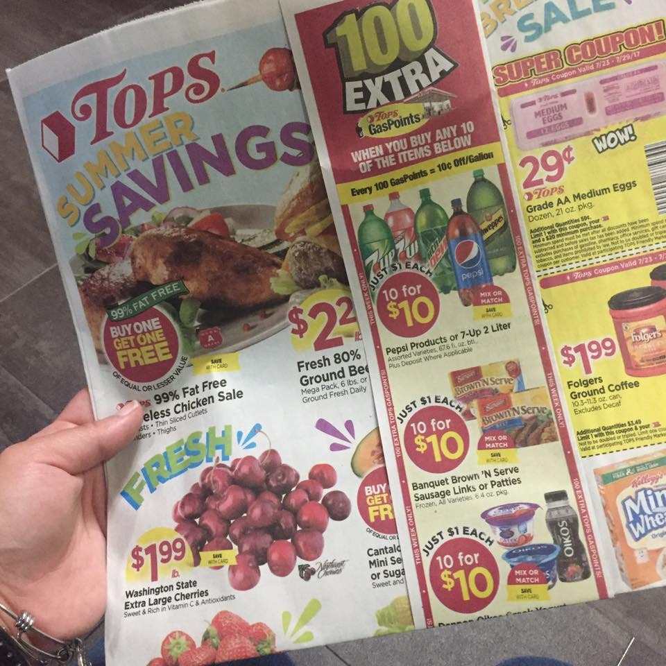 Tops Markets Ad Scan Week Of 7 23