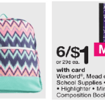 Walgreen School Supply Deals Week Of 7 16 17