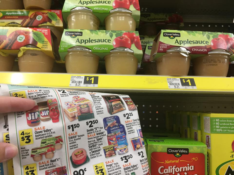 Applesauce Deal At Dollar General