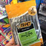 Bic Pens At The Dollar Tree