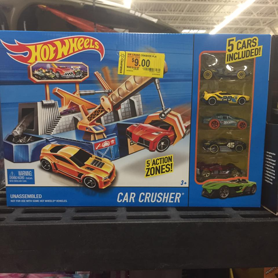 Hotwheels Walmart Toy Clearance