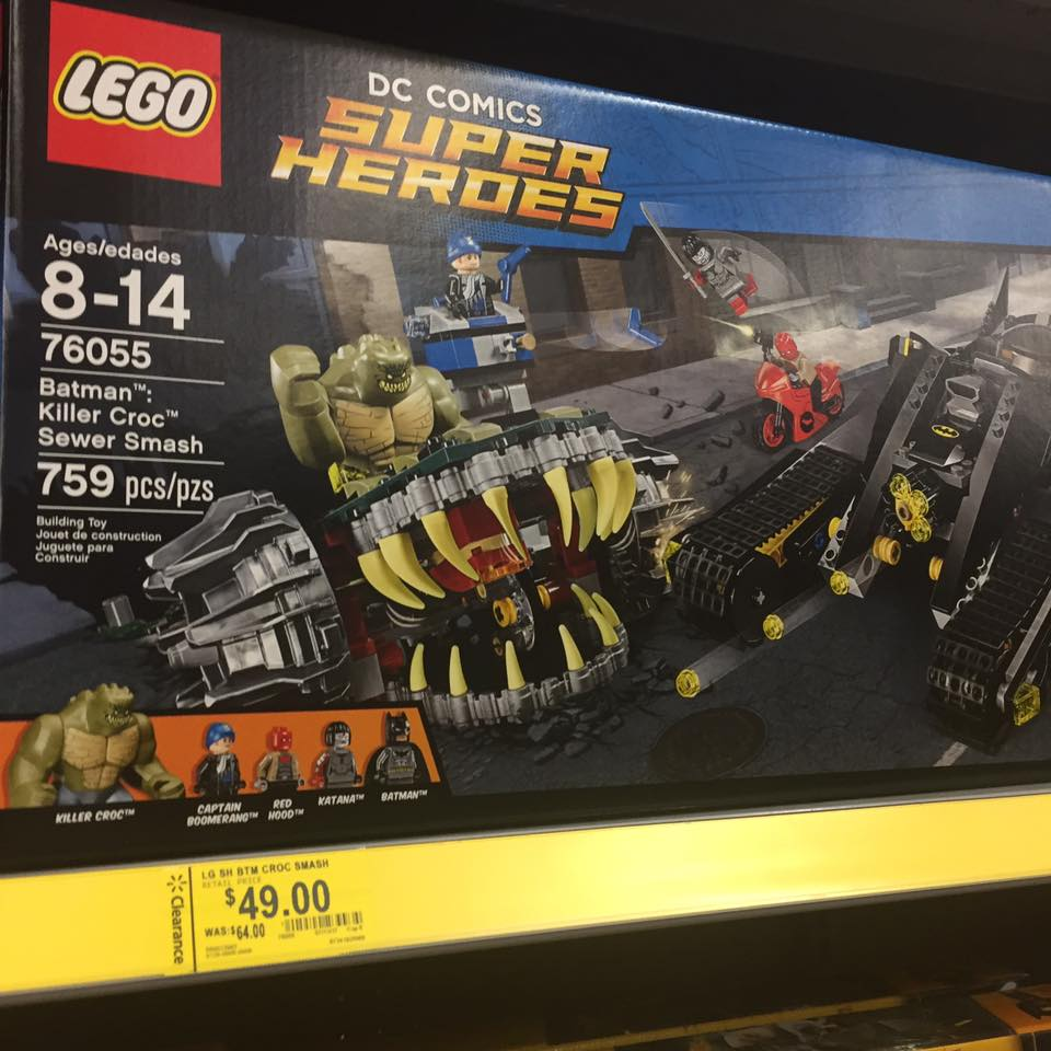 Lego Super Hero Walmart Toy Clearance