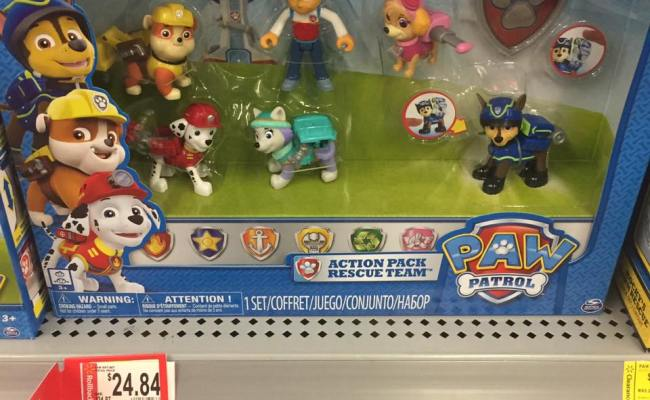 Paw Patrol Pups Walmart Toy Clearance My Momma Taught Me
