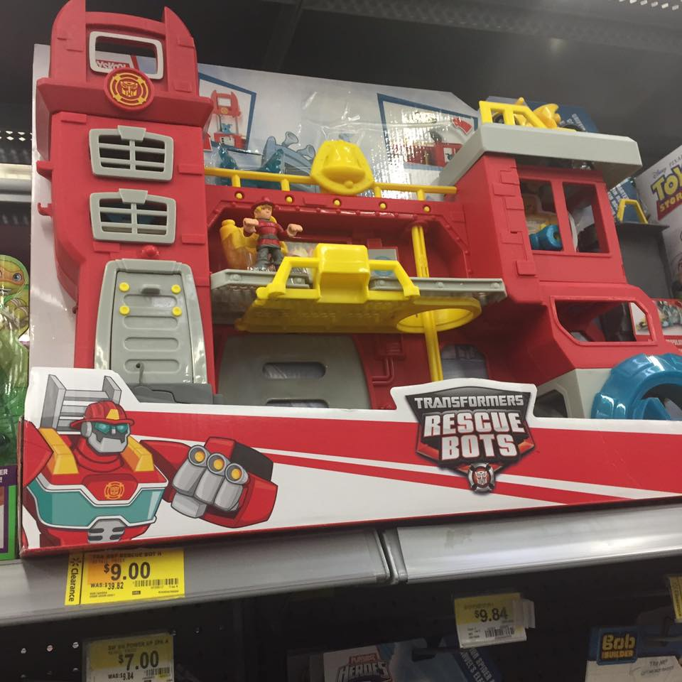 Rescue Toys Walmart Toy Clearance