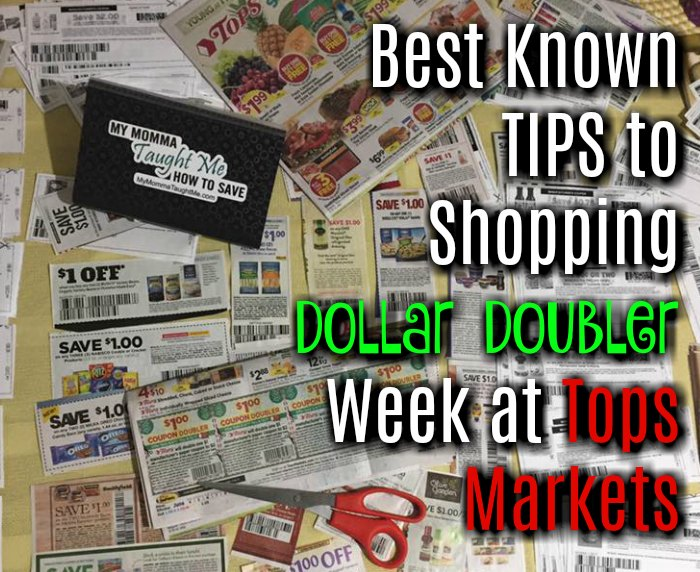 Best Known TIPS To Shopping Dollar Doubler Week At Tops