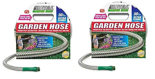 Metal Garden Hose (50')