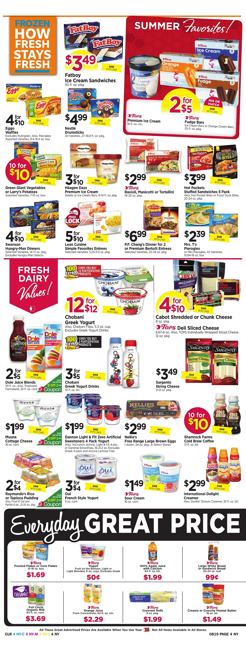 Tops Markets Ad Scan Week Of 8 13 Page 4