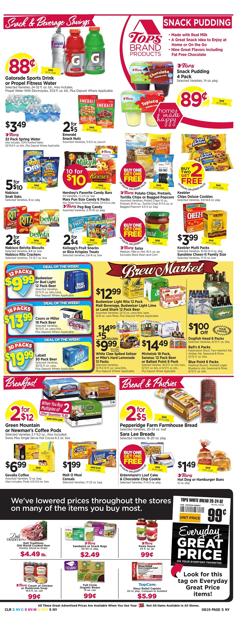 Tops Markets Ad Scan Week Of 8 13 Page 5