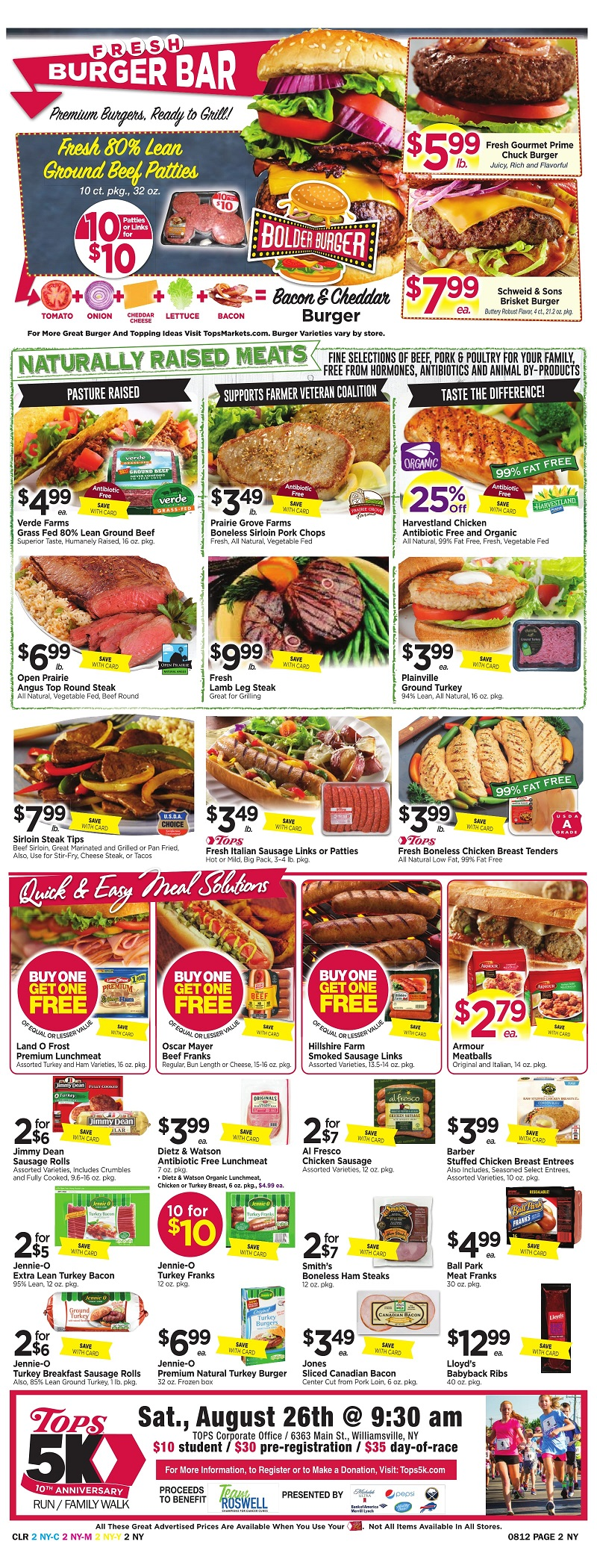 Tops Markets Ad Scan Week Of 8 6 Page 2