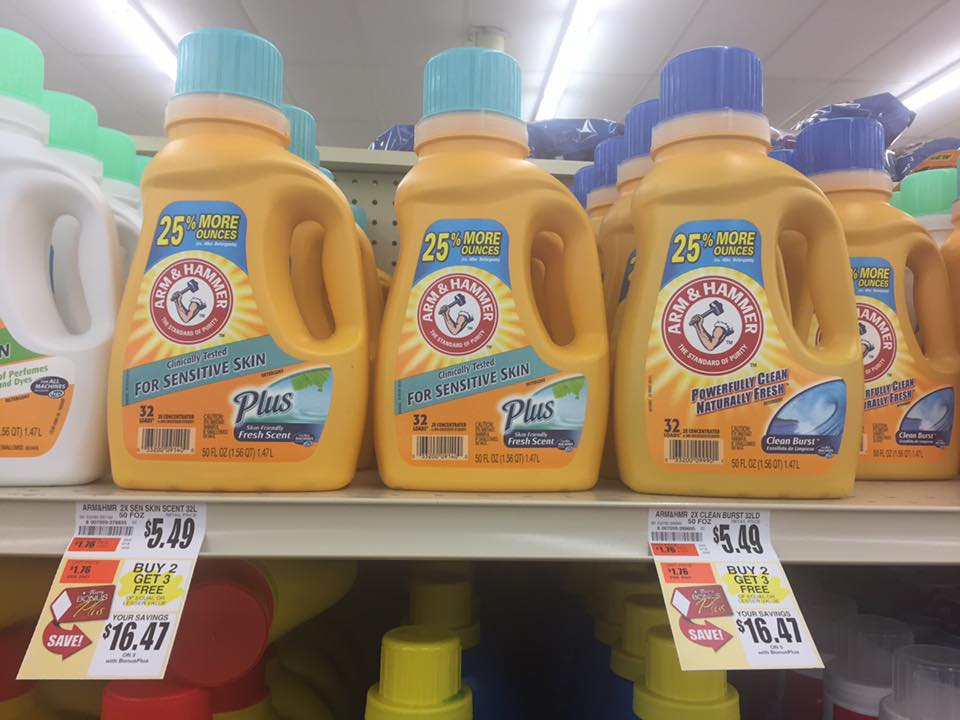 Arm And Hammer Buy 2 Get 3 Free Deal At Tops