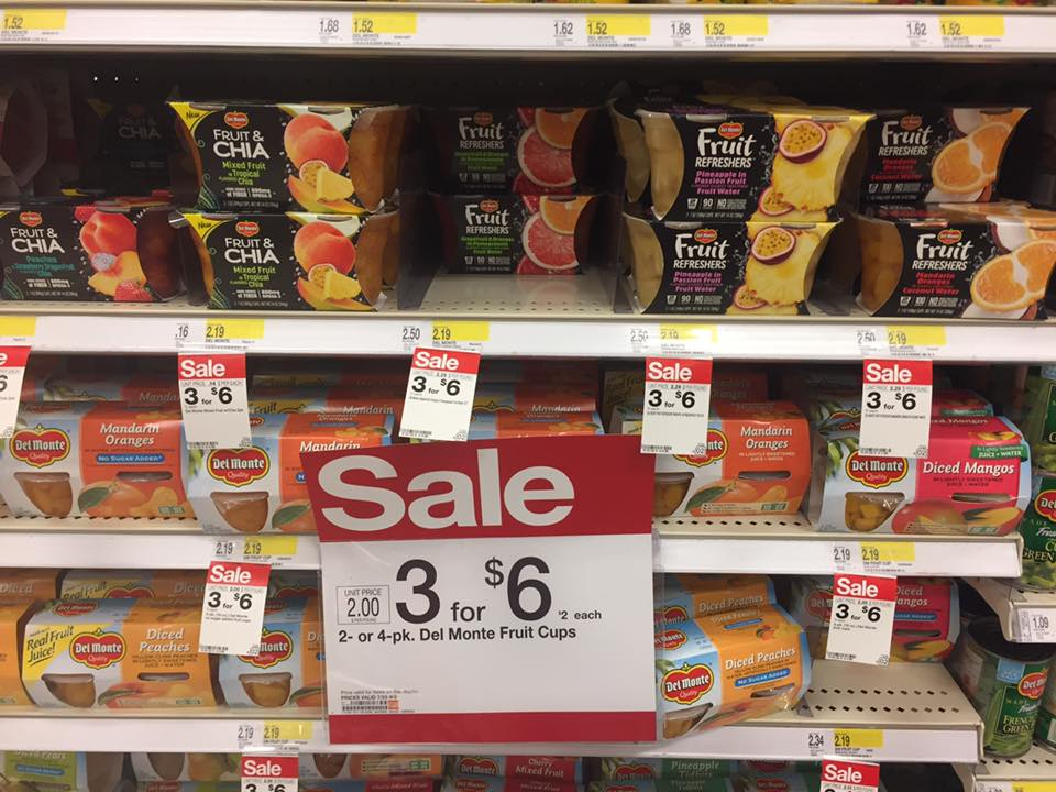 Del Monte Fruit At Target
