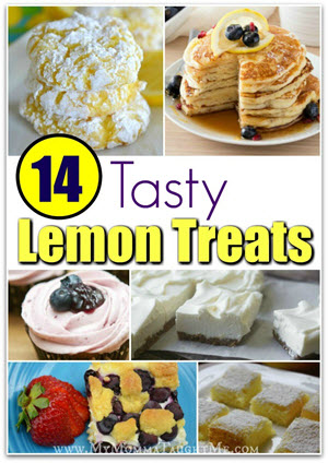 14 Tasty Lemon Treats Small