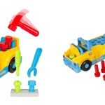Bump'n'Go Toy Truck With Electric Drill And Various Tools