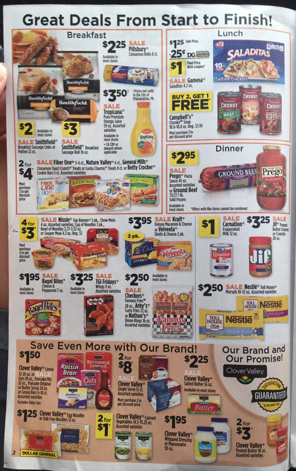 Dollar General Ad Week 9 17 Page 2