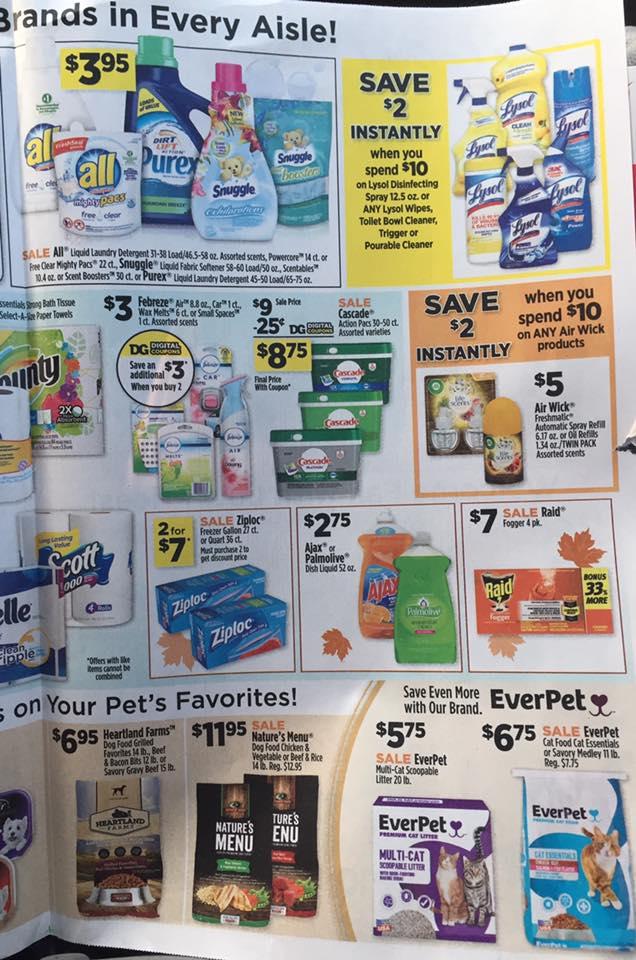 Dollar General Ad Week 9 17 Page 5