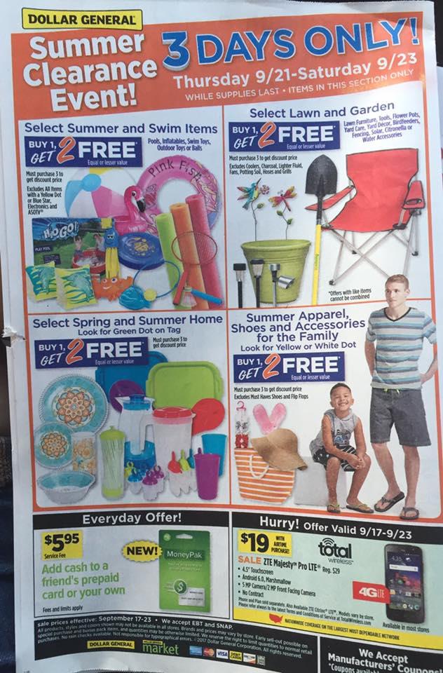 Dollar General Ad Week 9 17 Page 8