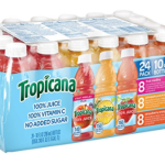 Tropicana 100% Juice 3 Flavor Fruit Blend Variety Pack