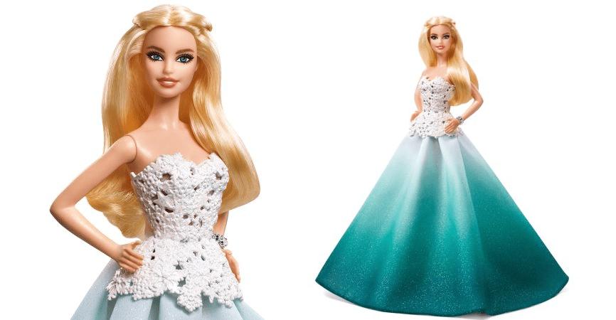 2016 Holiday Barbie Doll At Walmart Under $10