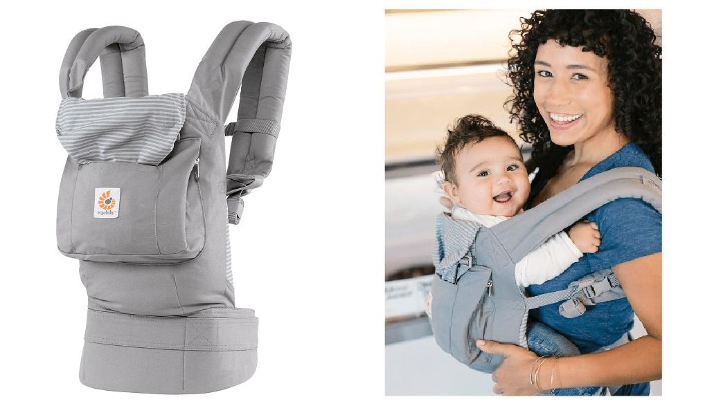 Ergobaby Misty Gray Ergonomic Multi Position Baby Carrier