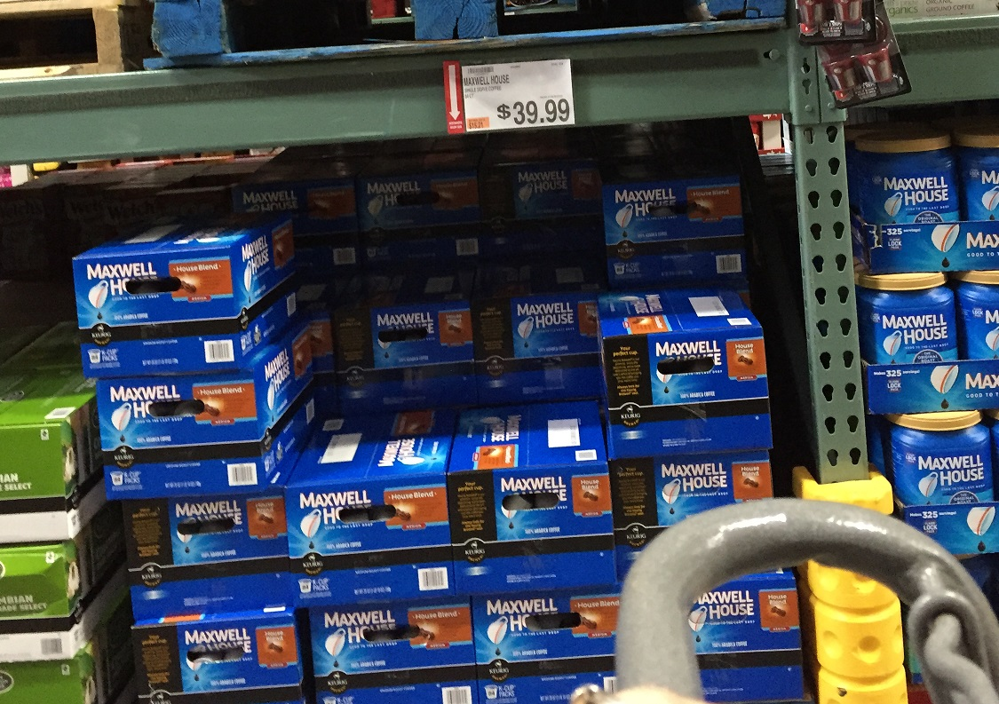 Maxwell House K Cups At BJ's