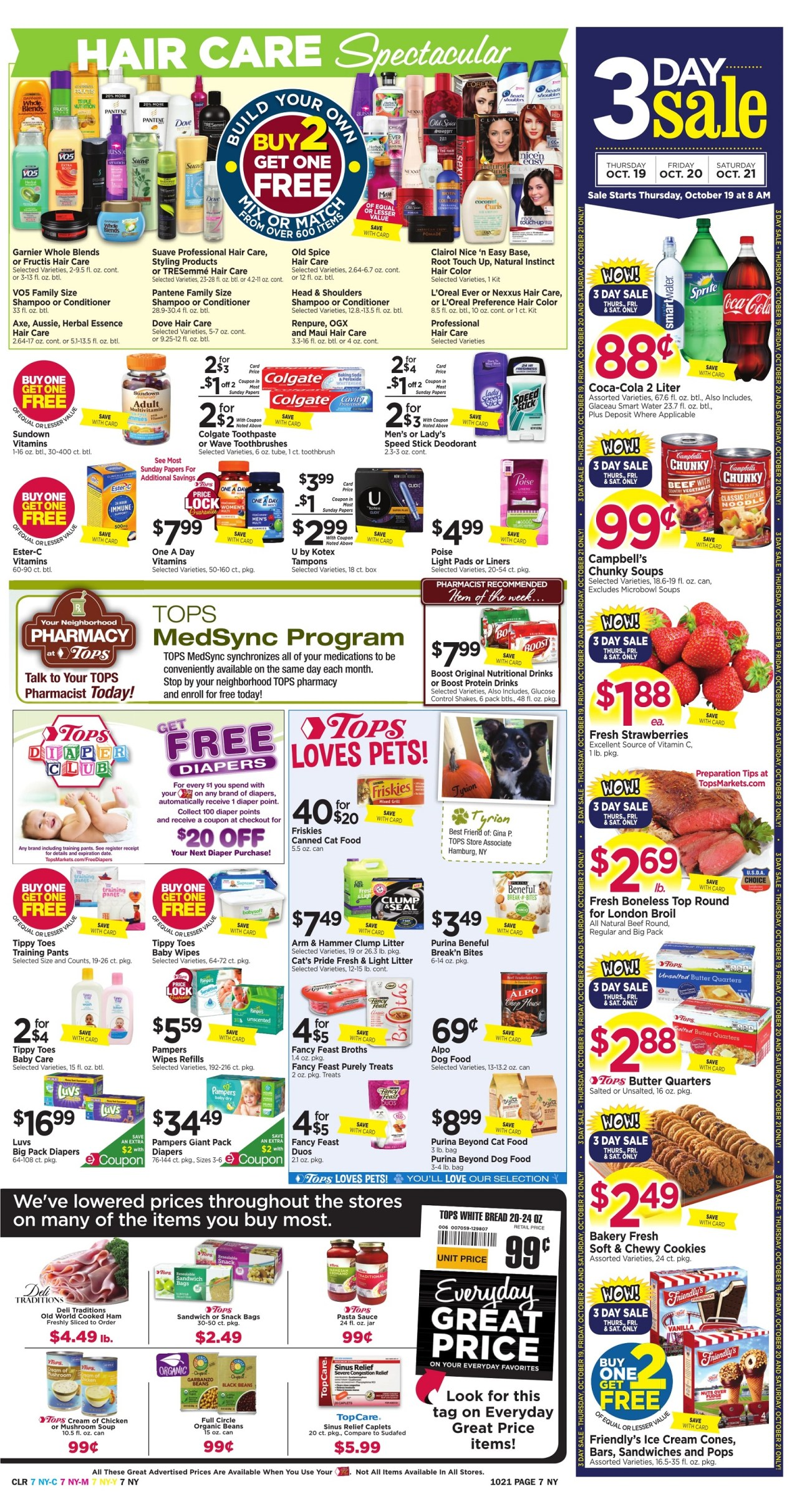 Tops Markets Ad Preview Week 10 15 Page 7