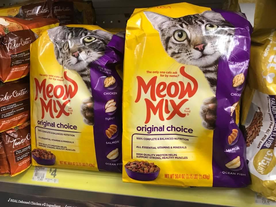 Meow Mix At Dollar General