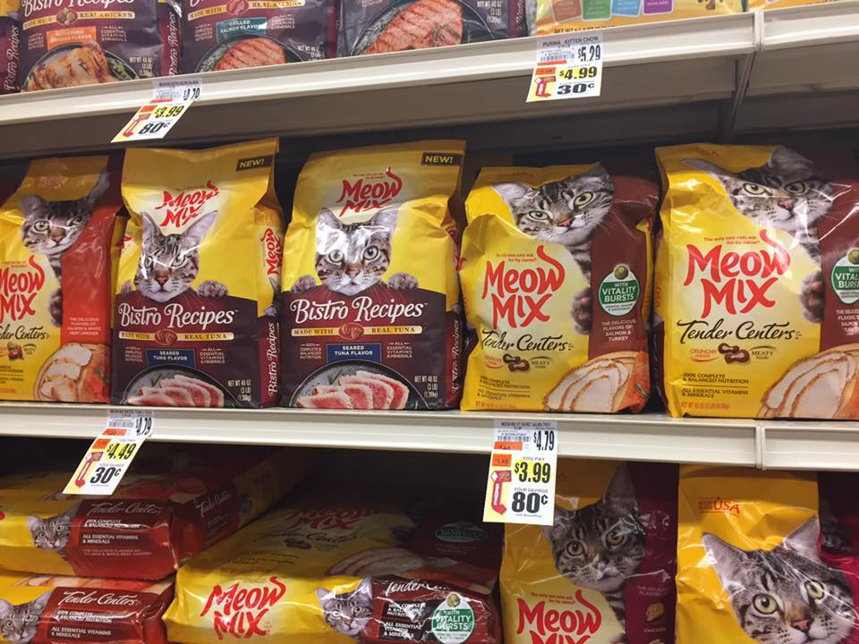 Meow Mix Sale At Tops Markets