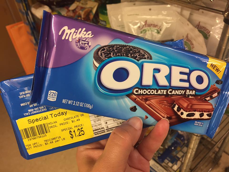 Oreo Bars Clearanced At Tops