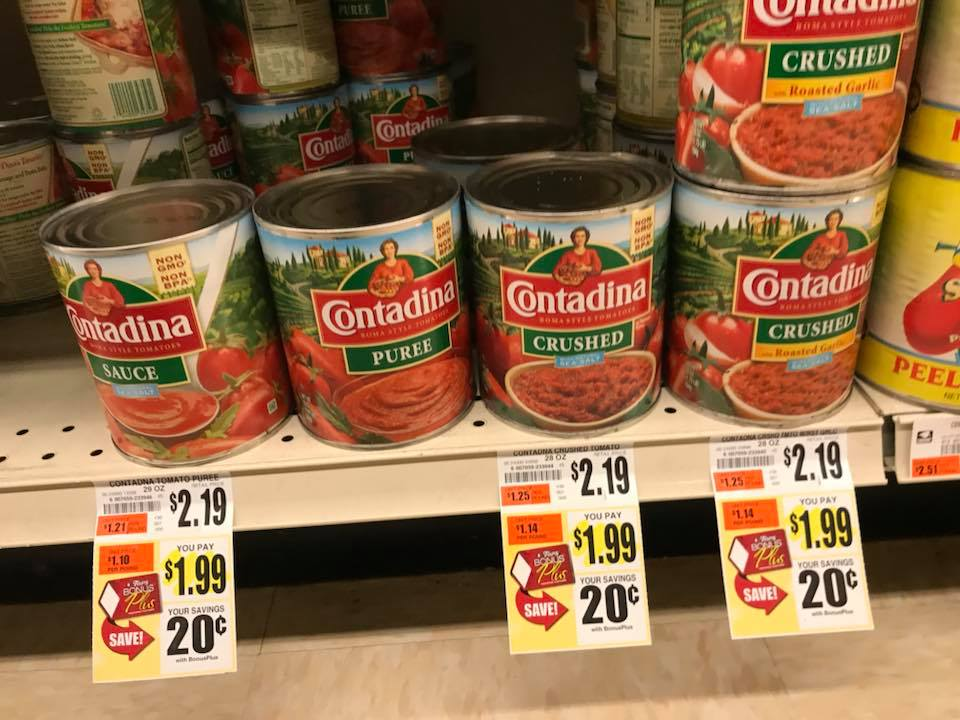 Contadina Sauce At Tops Markets