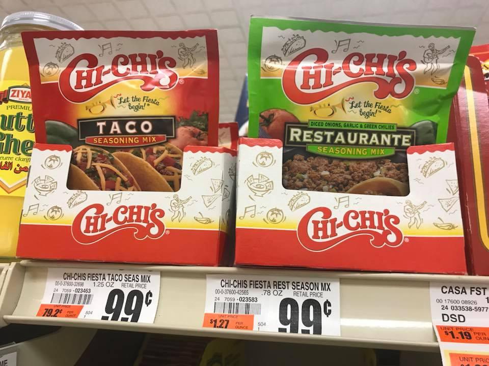 Chi Chi's Taco Seasoning At Tops