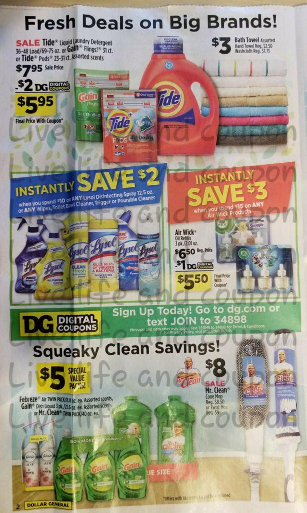 Dollar General Ad Week 1 14 18 Page 2