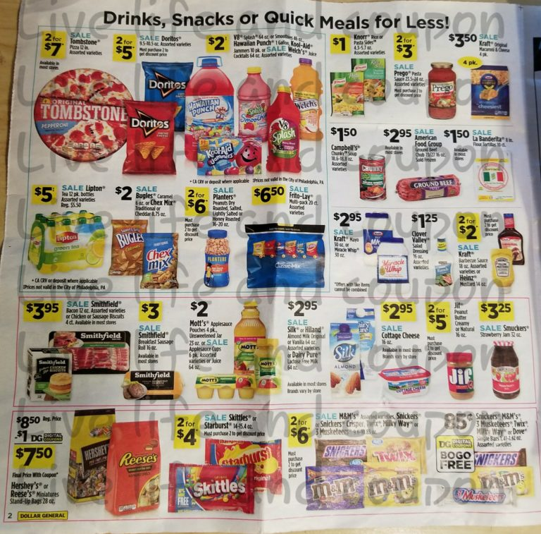 Dollar General Ad Week 1 7 18 Page 2