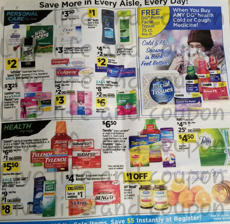Dollar General Ad Week 1 7 18 Page 3