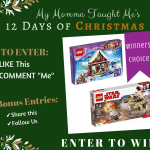 My Momma Taught Me's 12 Days Giveaway Day 10 2017