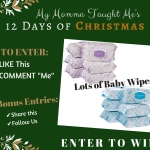 My Momma Taught Me's 12 Days Giveaway Day 7 2017