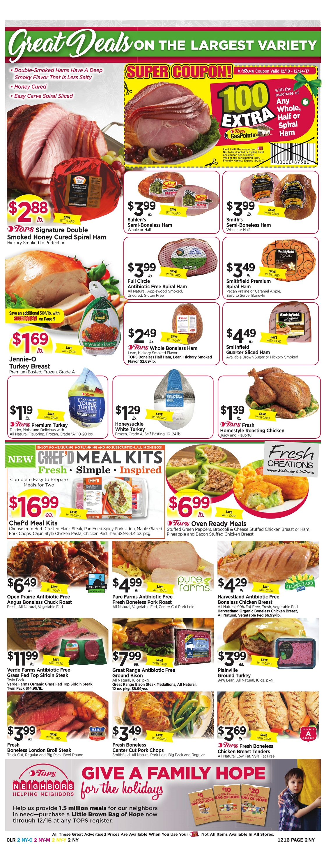 Tops Markets Ad Preview Week 12 10 Page 2
